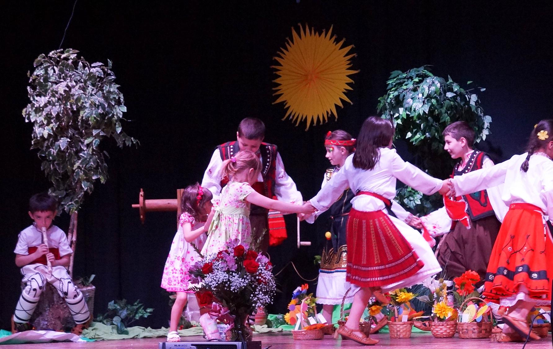 """24 май в Българско училище """"Христо Ботев"""", Вашингтон"""