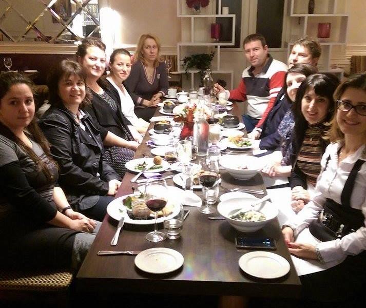 Среща-разговор с представители на българските организации, институции и бизнес в Дъблин (сн. Зорница Гоган)