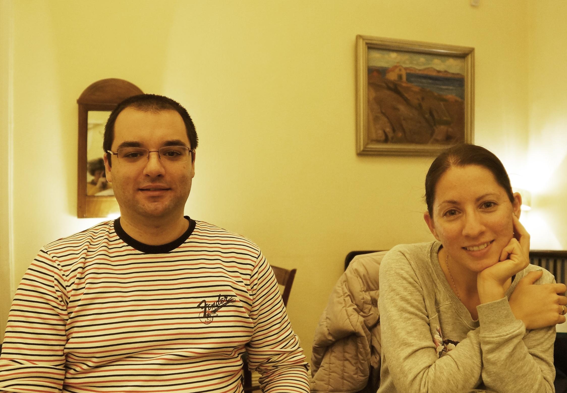 Соня Георгиева и Тодор Бакоев от