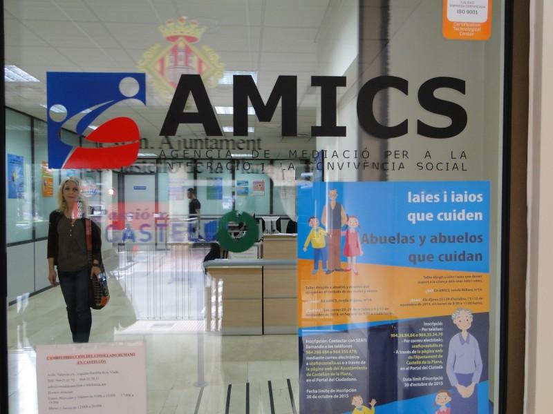 Центърът за настаняване и културна интеграция на имигранти (AMICS) – в гр. Кастейон (сн. Николай Вуков)