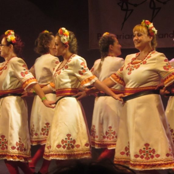 Първо участие на Фолклорна танцова група ЖАР, Лондон
