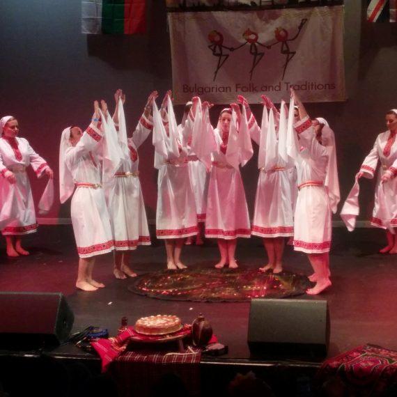 """Нестирански танц, """"Фиданка"""", Саутхемптън"""