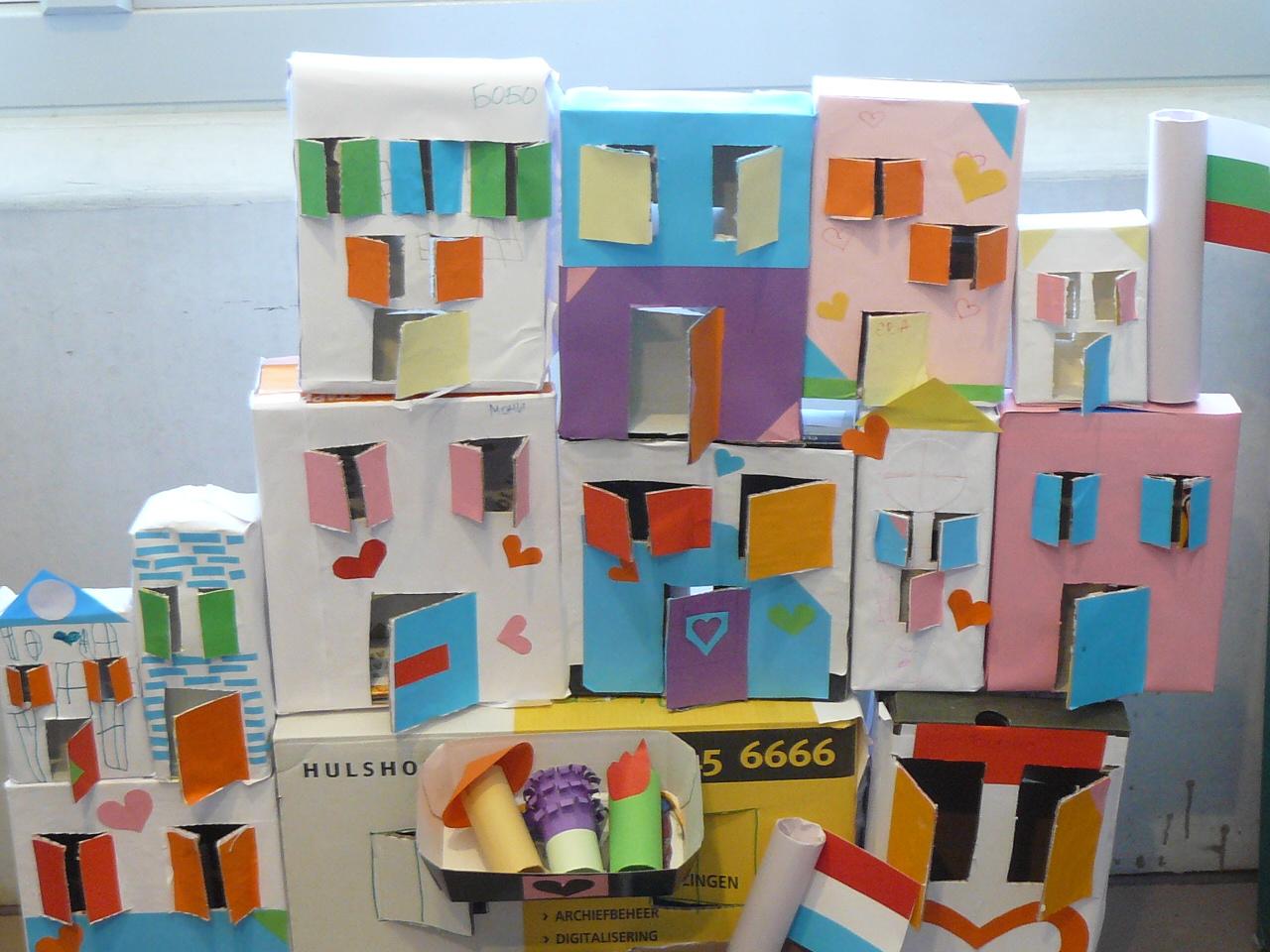 """Творения на децата от ПБУ """"АБВ"""", Амстердам"""
