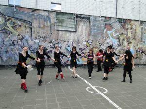 """Репетиции на група за народни танци """"Светулка"""" в гр. Антверпен"""