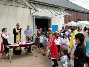 Празник на българите в с. Моренвилие – откриване на празника