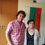 Щерьо Щерев и Валентина Ангелов – служител в Посолството на Република България в ЮАР
