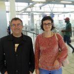 Николай Вуков и Деница Велчева – консул в Посолството на Република България в ЮАР